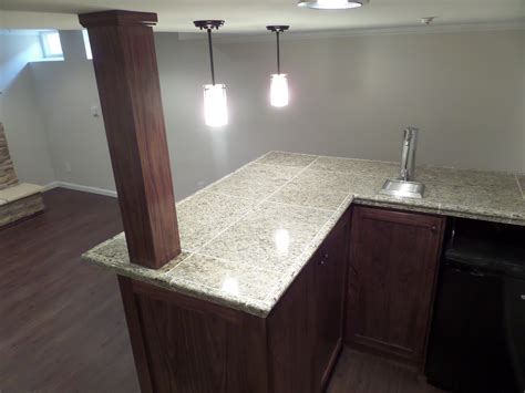 Granite Countertops Green Bay Wi by Basement Remodeling In Whitefish Bay Wi Featured Basement