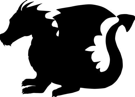 free silhouette images free image on pixabay dragon animal fantasy