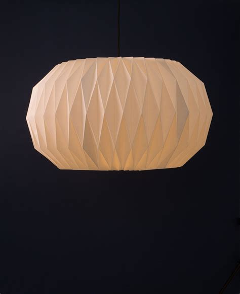 Pre Made Origami - white orb origami lshade paper light shade