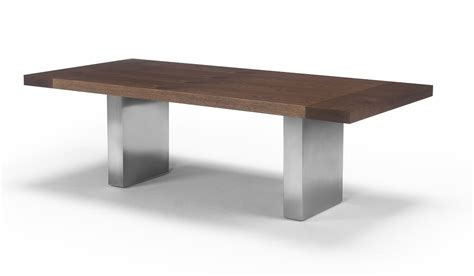 Modern Dining Table With Bench by Pedestal Dining Table
