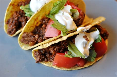 The Best Ground Beef Tacos Made From Scratch   Mel's