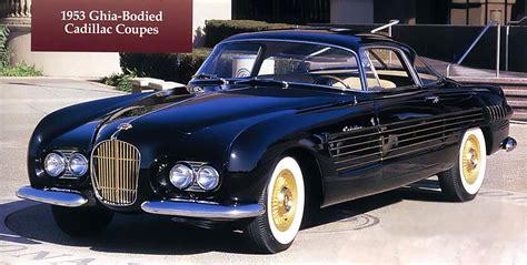 1953 cadillac ghia 1953 cadillac coupe ghia studios