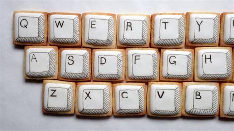 decorate your pictures how to decorate computer keyboard cookies youtube