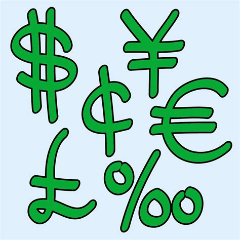 money clipart clip money dollar sign 1 b w abcteach