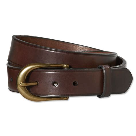 orvis american bridle leather belt ebay
