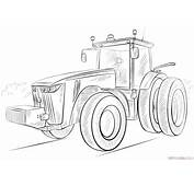 How To Draw A Tractor Step By Drawing Tutorials For