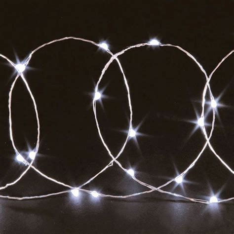 20 Bulb String Led Lights White Buy Online At Qd Stores Where To Buy White String Lights