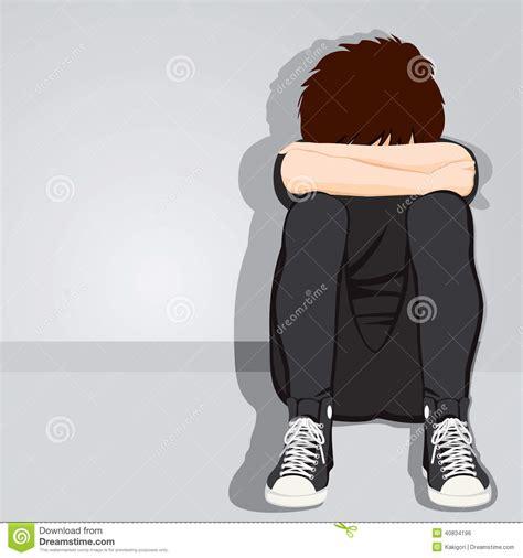 Free 3d Floor Plan by Sad Teenager Boy Desperate Stock Vector Image 40834196