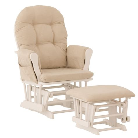 Rocking Chair With Ottoman For Nursery Nursery Glider Cushion Covers Thenurseries