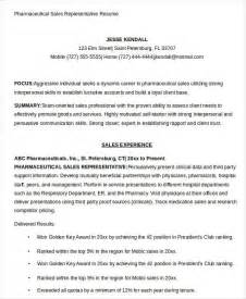 pharmaceutical resume sles sales resume template 25 free word pdf documents