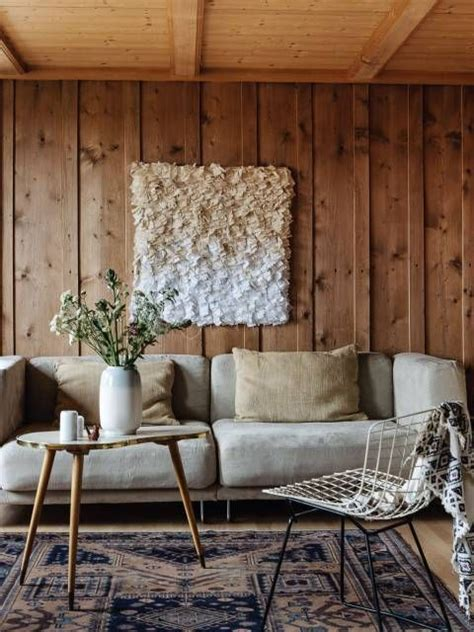 cool ways  update interior wall paneling wood living