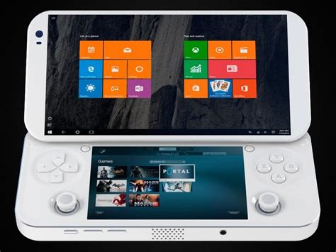 console portable upcoming windows 10 based portable console seeks