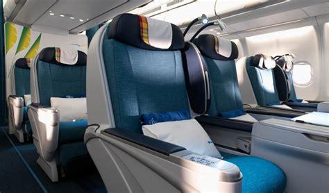 cabin classes classes de voyage air cara 239 bes
