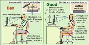 Once you have a properly supporting chair you can turn your attention