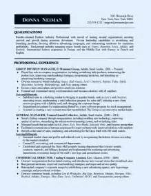 Computer Systems Manager Sle Resume by Retail Sales Manager Resume Exle Student Resume Template