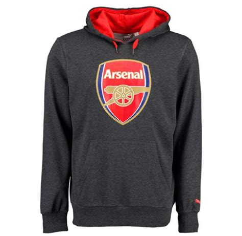 arsenal hoodie arsenal fc soccer gear apparel merchandise 2015 16