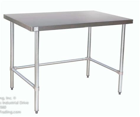 Stainless Kitchen Prep Table Counter Height Stainless Steel Prep Tables Stainless Steel Work Tables Commercial Prep Tables