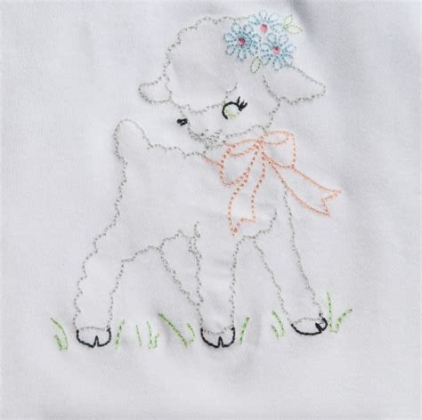Embroidery Design Lamb | 17 best images about lambs on pinterest cute lamb