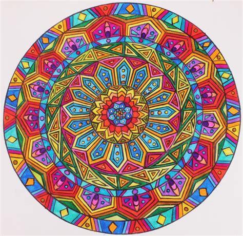 colorful mandala colorful mandalas mandalas