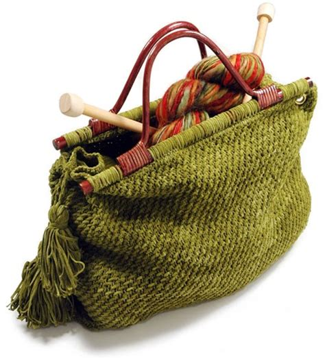 knitting totes creative ideas for you knitting tote free pattern