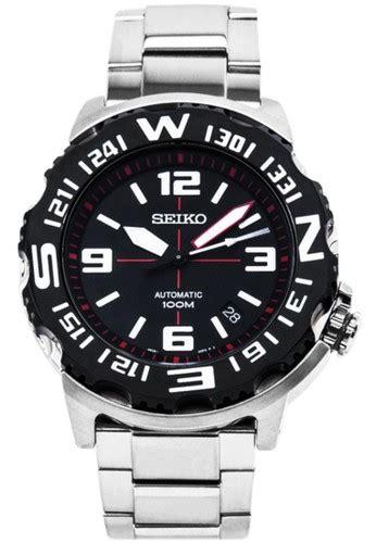Jam Tangan Seiko 0001 Banyak Warna jual seiko seiko automatic divers jam tangan pria hitam