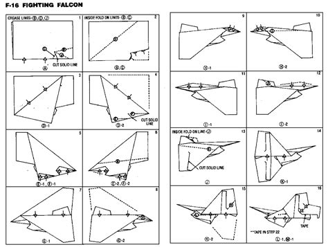 How To Make Cool Paper Airplanes Step By Step - how to make cool paper planes step by step
