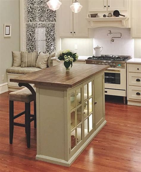 how to make a small kitchen island 23 best diy kitchen island ideas and designs for 2019