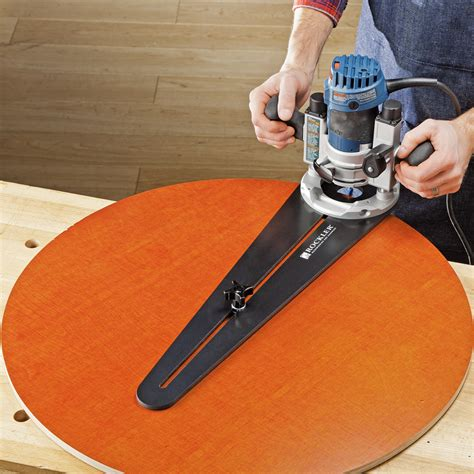 rockler launches trim router circle cutting jig  jig