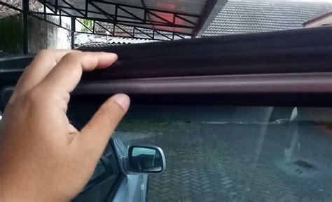Karet Pintu Mobil Tips Merawat Karet Pintu Mobil Supaya Tidak Bocor