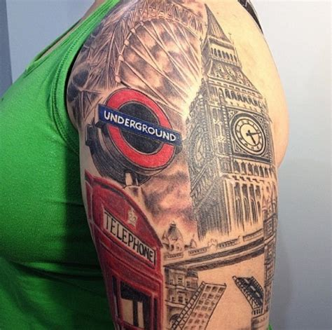 london themed tattoo you won t believe these london themed tattoos londonist