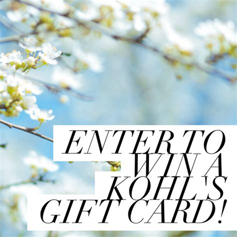 Kohl S Giveaway - last chance the 150 kohl s gift card giveaway ends today mommies with cents