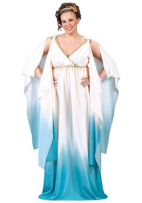 Stylish Costume Of The Day Goddess by Plus Size Goddess Costume