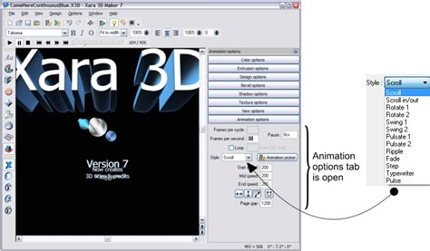 video tutorial xara3d xara outsider february 2011 xara 3d maker 7 tutorial page 2