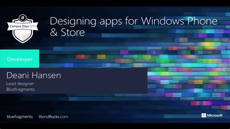 design applications for windows design apps for windows phone and windows store for
