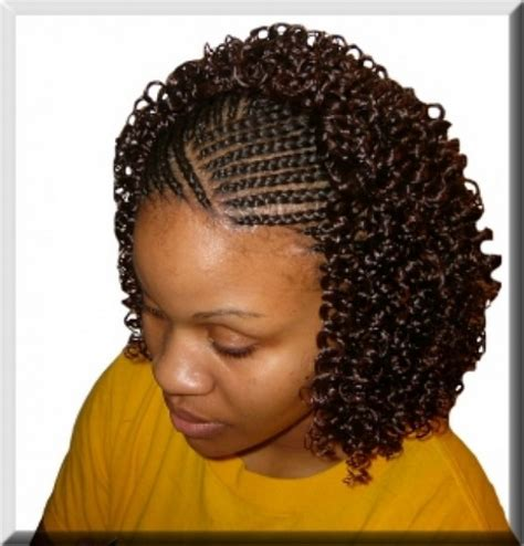 braids hairstyles for black women over 40 | short