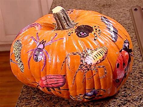 Decoupage Pumpkins - glittering decoupage pumpkin hgtv