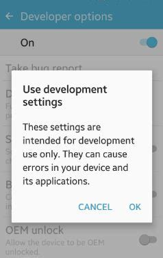 android enable developer mode how to change buffer size logging android phone lollipop marshmallow