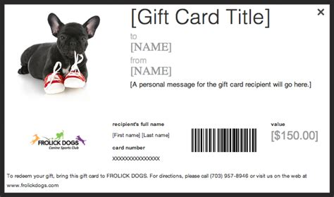 Birthday Card Template Dogs by Services Frolick Dogs