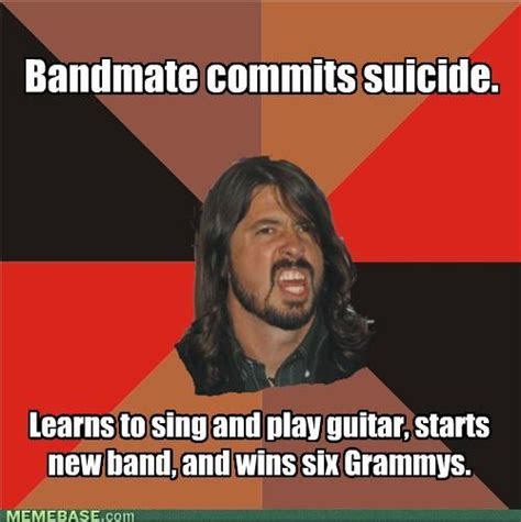 Dave Grohl Meme - dave grohl meme