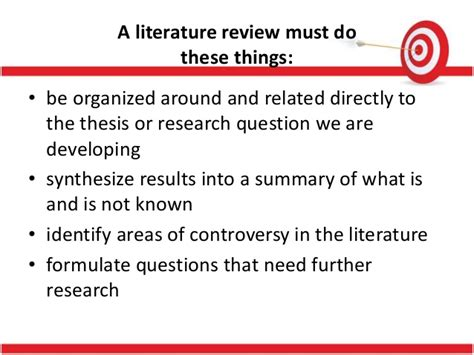 What Is Research Methodology In Literature by Literature Review Review Of Related Literature Research Methodolog