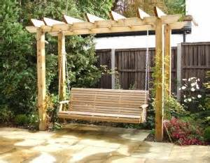 Landscape Structures Swing Seat Bespoke Timber Garden Buildings From Alda Landscapes