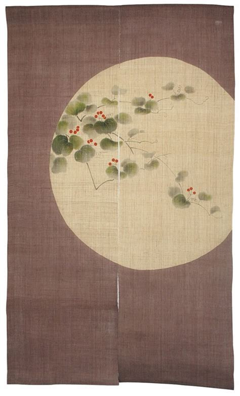 Japanese Shoji Divider and Noren Curtains   Interior design