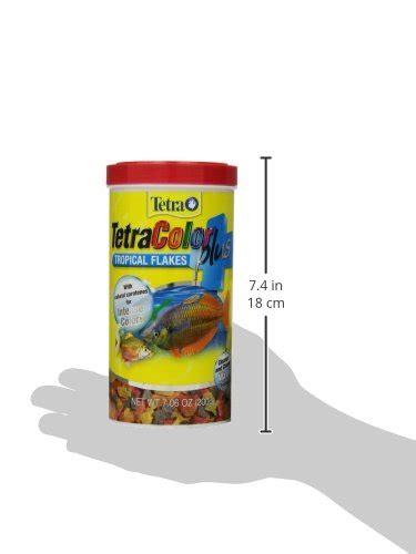 Tropical Botol 1 Liter tetra 77248 tetracolor plus tropical flakes 7 06 ounce 1