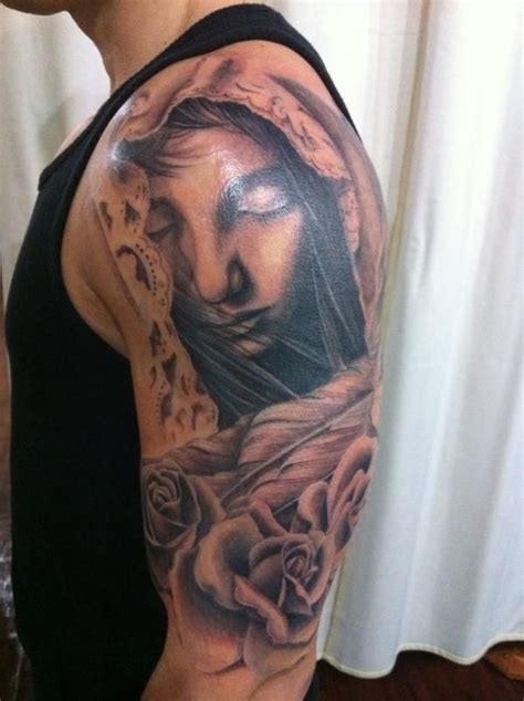 holy tattoo sleeve designs 60 holy designs designs and