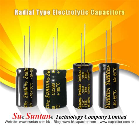 radial type capacitor 2016 may