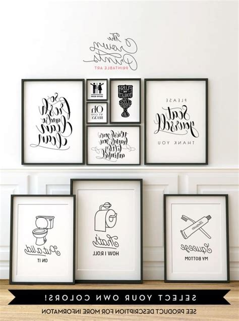 bathroom prints etsy printable bathroom wall art from the crown prints on etsy