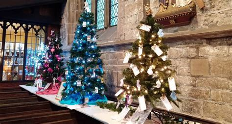 a festival of christmas trees destination chesterfield