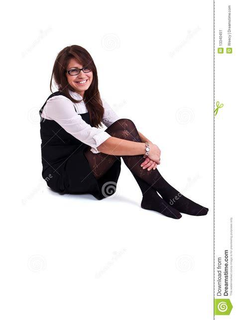 femme de bureau dans le studio image stock image 13340451