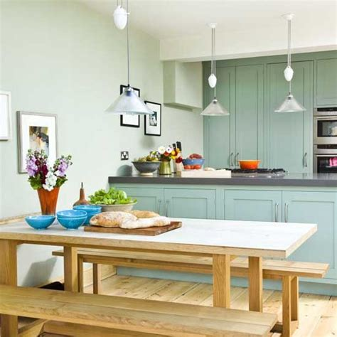Kitchen Diner Inspiration New Paint Colours From Sanderson Kitchen Sourcebook