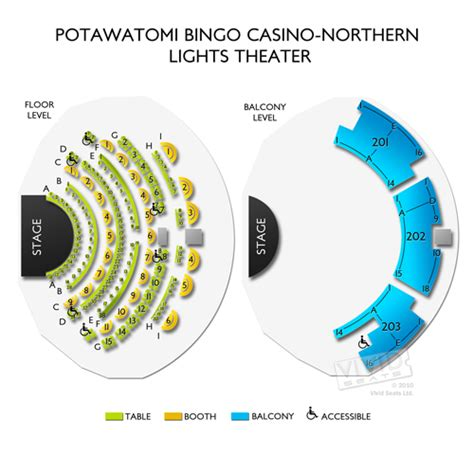 Northern Lights Bingo by Potawatomi Bingo Casino Northern Lights Theater Tickets